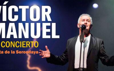 26 de octubre Víctor Manuel en Concierto